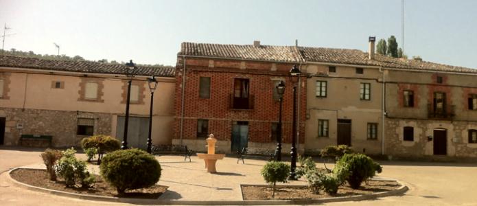 Plaza mayor de Villatuelda