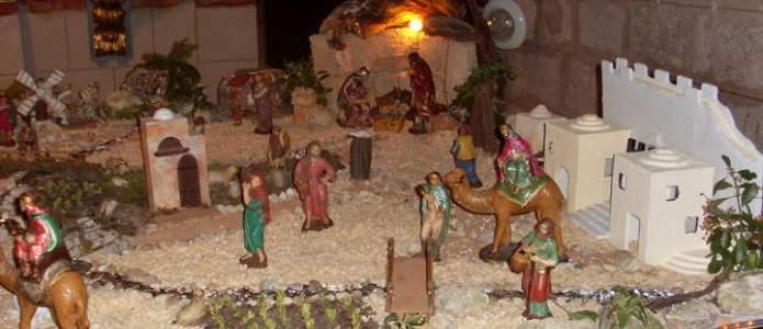 Belén de la iglesia de Tórtoles de Esgueva