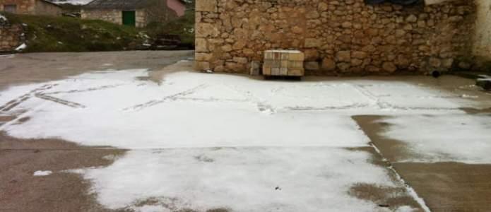 Calle de Villatuelda nevada
