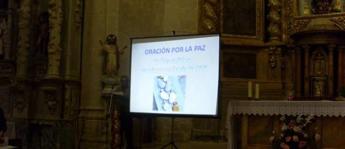 Presentación de la oración por la Paz en Olmedillo de Roa