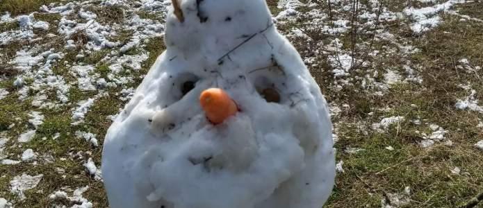 Carita sonriente de Olaf